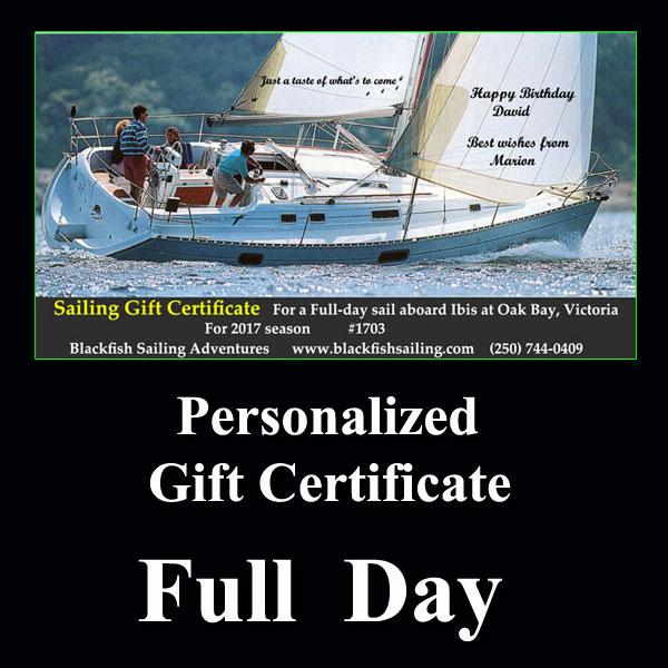 full day gift cert