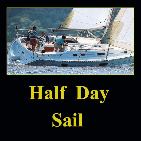 Purchase half day sail